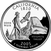 2005 - P California State Quarter