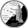 2008 - P Hawaii State Quarter