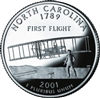 2001 - P North Carolina State Quarter