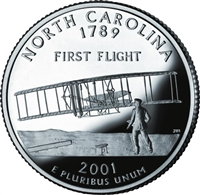 2001 - D North Carolina State Quarter