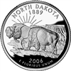 2006 - D North Dakota State Quarter