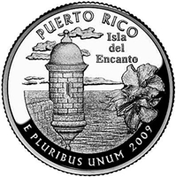 2009 - D Puerto Rico - Roll of 40 - Territory Quarters