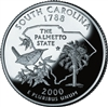2000 - P South Carolina State Quarter
