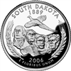 2006 - P South Dakota State Quarter