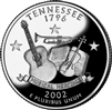 2002 - P Tennessee State Quarter