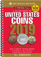 The Official 2018 Red Book Guide to U.S. Coin Values - Spiral Bound
