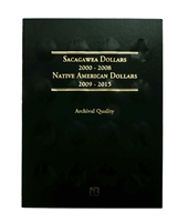 2000 - 2019 40-Coin P & D Sacagawea/Native American Dollar Set in Whitman Folder Uncirculated