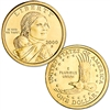 2000 P & D Sacagawea Dollar Set