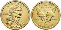 2016 P & D Sacagawea Dollar Set