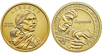 2017 P & D Sacagawea Dollar Set