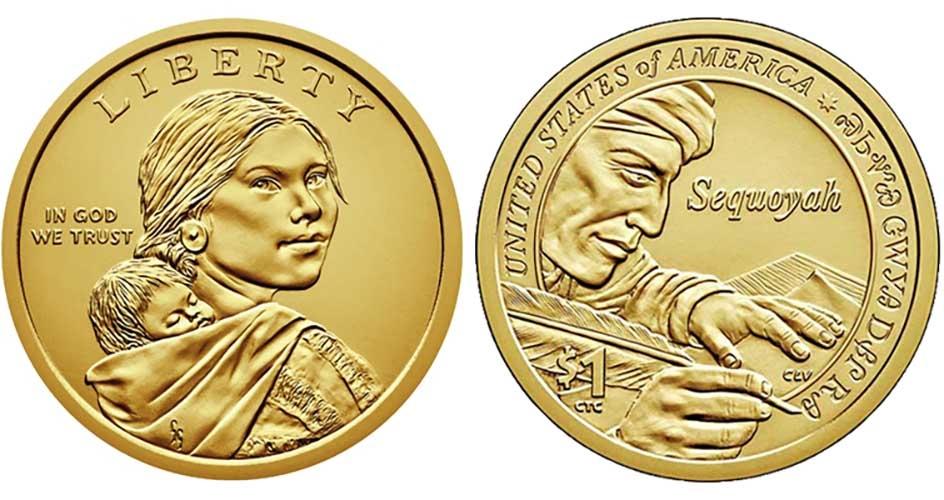2016 S 2017 S  Proof  Native American Sacagawea Dollars