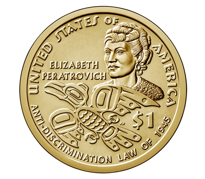 2020 - S Proof Native American/Sacagawea Dollar