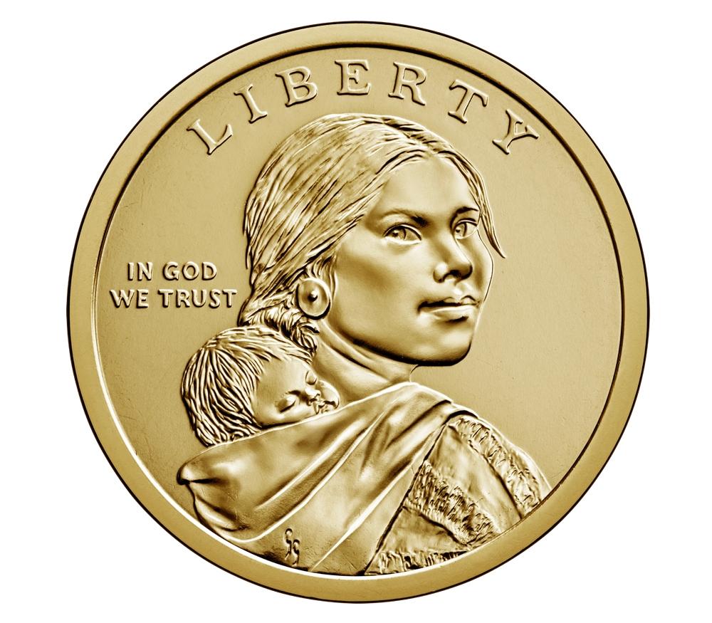 2008 S Proof Native American Sacagawea Dollar