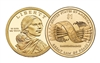 2010 - P Sacagawea Dollar - 25 Coin Roll