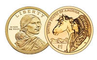 2012 - D Sacagawea Dollar - 25 Coin Roll