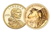 2012 - P Sacagawea Dollar - 25 Coin Roll