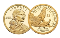 2013 - D Sacagawea Dollar - 25 Coin Roll