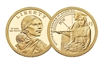 2014 - P Sacagawea Dollar - 25 Coin Roll