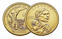2015 - P Sacagawea Dollar - 25 Coin Roll