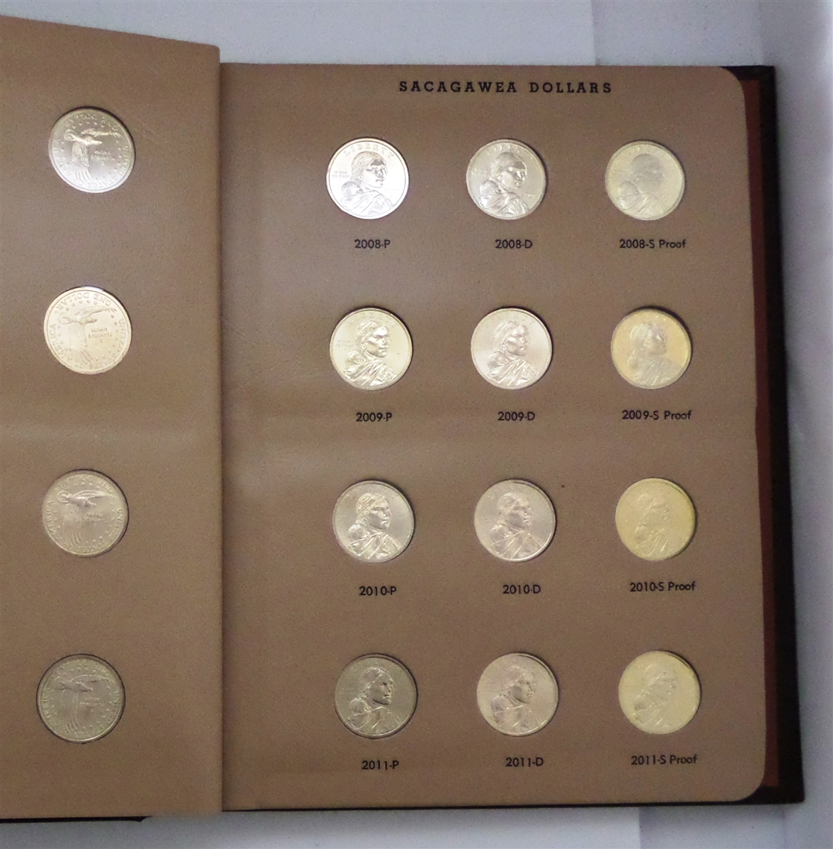 Plastic box for PROOF SETS  holds Presidential Dollar or Sacagawea Dollars