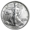 1986 U.S. Silver Eagle - Gem Brilliant Uncirculated with Certificate of Authenticity