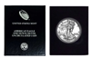 1989 U.S. Silver Eagle in Plastic Air Tite and Blue Gift Box - Gem Brilliant Uncirculated