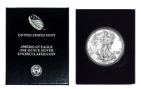 1994 U.S. Silver Eagle in Plastic Air Tite and Blue Gift Box - Gem Brilliant Uncirculated