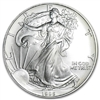 1995 U.S. Silver Eagle - Gem Brilliant Uncirculated with Certificate of Authenticity