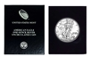 1997 U.S. Silver Eagle in Plastic Air Tite and Blue Gift Box - Gem Brilliant Uncirculated