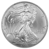 2003 U.S. Silver Eagle - Gem Brilliant Uncirculated with Certificate of Authenticity