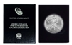 2003 U.S. Silver Eagle in Plastic Air Tite and Blue Gift Box - Gem Brilliant Uncirculated