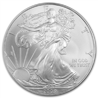 2009 U.S. Silver Eagle - Gem Brilliant Uncirculated with Certificate of Authenticity