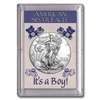 "2017 American 1 oz Silver Eagle in ""It's a Boy"" Holder"