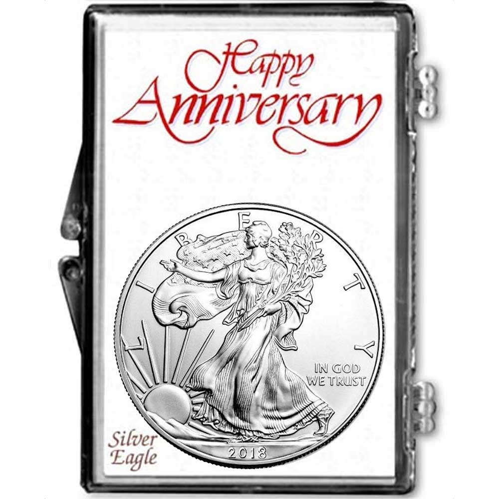 2019 American Silver Eagle inIts a Girl Holder Dollar Uncirculated Us Mint