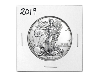 2019 U.S. Silver Eagle - Gem Brilliant Uncirculated