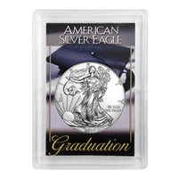 2019 American 1 oz Silver Eagle in Graduation Holder