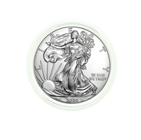 2020 U.S. Silver Eagle - Gem Brilliant Uncirculated in Plastic Air-Tite Holder