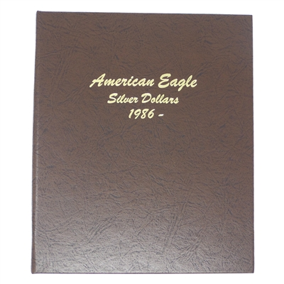 2011 - 2020 Silver Eagle 10 Coin Starter Set in Dansco Deluxe American Eagle Silver Dollar Album #7181