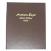 1986 - 2019 Silver Eagle 32 Coin Set in Dansco Deluxe American Eagle Silver Dollar Album #7181