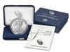 2019 W Proof American Silver Eagle 1 Ounce Coin in OGP with CoA