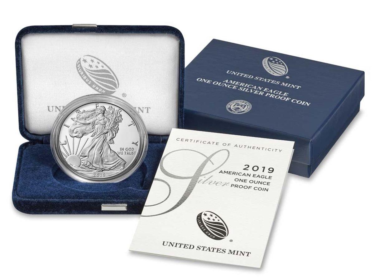 2019 W Lincoln Cent Reverse,W Proof W BU OGP W//COA No Coins