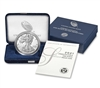2021 W Proof American Silver Eagle 1 Ounce Coin in OGP with CoA