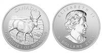 2013 Canadian Antelope One Ounce Silver Coin