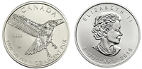 2015 Canadian Red Tailed Hawk One Ounce Silver Coin