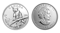 2012 Canadian Cougar One Ounce Silver Coin