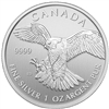 2014 Canadian Peregrine Falcon One Ounce Silver Coin