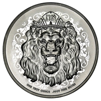 2021 1 oz Niue $2 Roaring Lion Silver Coin Brilliant Uncirculated