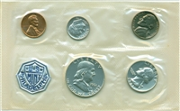1961 - P U.S. Mint Silver Proof Set - 5 Coin Proof Set