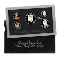 1993 S U.S. Mint Silver Proof Set in OGP with CoA