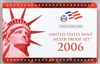 2006 U.S. Mint 10-coin Silver Proof Set - OGP box & COA